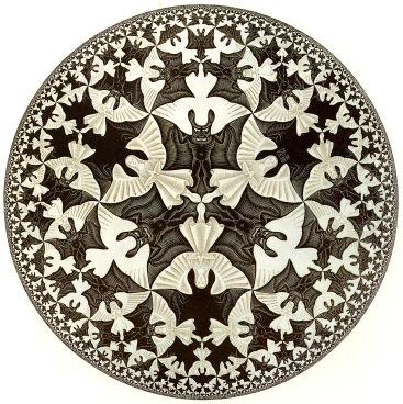 Ilustración del holandés M.C. Escher