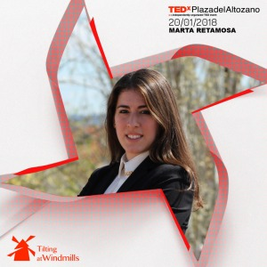 Marta Retamosa, ponente TEDx 2018